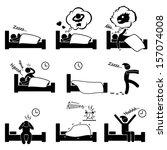 alarma,molesto,dormido,despierta,cama,dormitorio,negro,dibujos animados,reloj,comic,pareja,trastorno,soñando,figura,dolor de cabeza