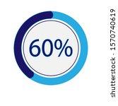 circle percentage diagrams 60   ...