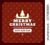 christmas background vector... | Shutterstock .eps vector #157080884