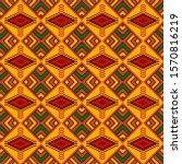 Kente Cloth. African Textile....