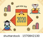 korea tradition day  new year's ...   Shutterstock .eps vector #1570842130