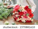 Step By Step Florist Woman...