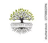 root tree logo inspiration.... | Shutterstock .eps vector #1570882096
