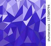 abstract geometrical design  | Shutterstock .eps vector #157089794