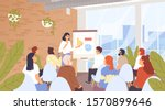 business seminar  conference... | Shutterstock .eps vector #1570899646