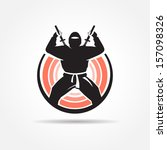 Ninja Symbol Emblem