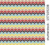 seamless chevron pattern.... | Shutterstock .eps vector #157105238