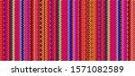blanket stripes seamless vector ... | Shutterstock .eps vector #1571082589
