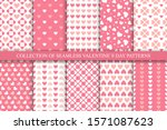 collection of seamless...   Shutterstock .eps vector #1571087623