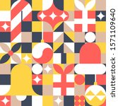 Christmas Seamless Pattern In...
