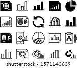 diagram vector icon set such as ...