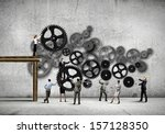 conceptual image of... | Shutterstock . vector #157128350