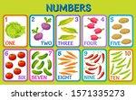 cartoon vegetables. children... | Shutterstock .eps vector #1571335273