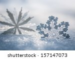 silver christmas decoration.... | Shutterstock . vector #157147073