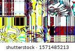 festive decoration. colorful... | Shutterstock . vector #1571485213