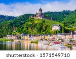 Cochem  Germany. Old Town And...