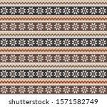ethnic boho seamless pattern... | Shutterstock .eps vector #1571582749