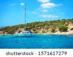 Sailing Yacht Catamaran Boat...