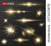 light shine and golden glitter...   Shutterstock .eps vector #1571623870