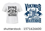 scandinavian vikings  vector t... | Shutterstock .eps vector #1571626600