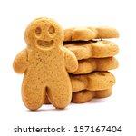 Stack Of Gingerbread Cookies