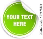 info graphic template | Shutterstock .eps vector #157174874