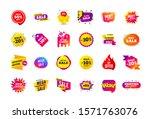 sale banner badge. special... | Shutterstock .eps vector #1571763076