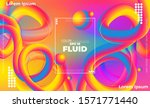 abstract fluid color pattern of ...   Shutterstock .eps vector #1571771440