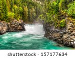 waterfall and river views of... | Shutterstock . vector #157177634