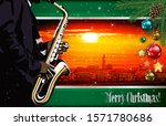 christmas red green... | Shutterstock . vector #1571780686