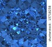 Blue Sparkling Diamonds ...