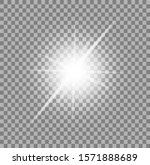 the light of a star. star glow... | Shutterstock .eps vector #1571888689