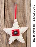 Star Decoration Hanging Against ...