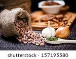 winter ingredients such as bean ...