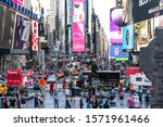 Times Square  New York City Usa ...