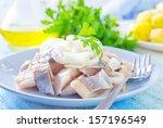 Stock photo herring 157196549