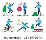 summer outdoor activities ...   Shutterstock .eps vector #1571970940