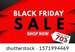 black friday sale banner... | Shutterstock .eps vector #1571994469