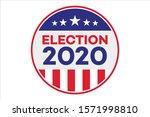 2020 united states of america...   Shutterstock .eps vector #1571998810