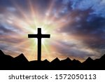 Jesus Christ Cross On An...