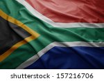 Waving Colorful South Africa...