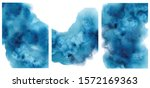 watercolor abstract aquamarine  ...   Shutterstock .eps vector #1572169363