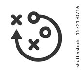 strategy planning icon. vector... | Shutterstock .eps vector #1572170716