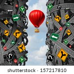 innovative leadership with a... | Shutterstock . vector #157217810