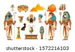 Ancient Egypt Set. Egypt Old...