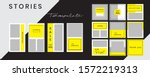 editable social media templates ...   Shutterstock .eps vector #1572219313