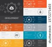development infographic 10 line ...