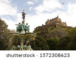 Ross Fountain And Edinburgh...