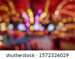 golden and red christmas light... | Shutterstock . vector #1572326029