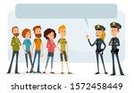 cartoon flat cute funny... | Shutterstock .eps vector #1572458449